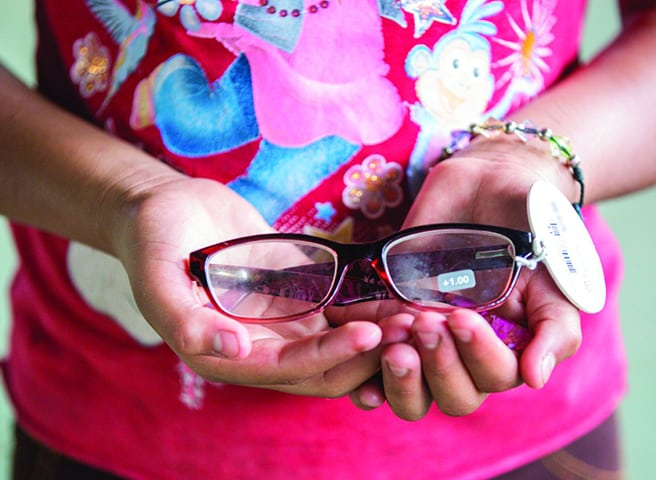 One-third of the global population has vision impairment that can be corrected with a pair of glasses. Make an impact and give the gift of sight.